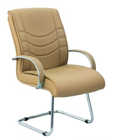 almera b rostuhl freischwinger mit armlehne beige g nstig m bel star. Black Bedroom Furniture Sets. Home Design Ideas