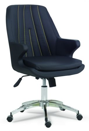 Arrow b rostuhl drehstuhl mit armlehne schwarz g nstig kaufen m bel star - Drehstuhl mit armlehne ...