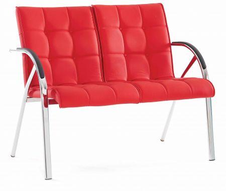 B rostuhl rot mit metallfu armlehne g nstig kaufen for Runde banketttische kaufen