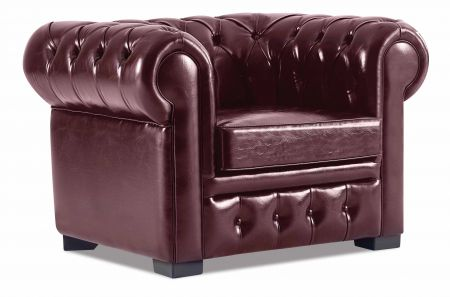 CHESTER Sessel / Clubsessel Bordeaux