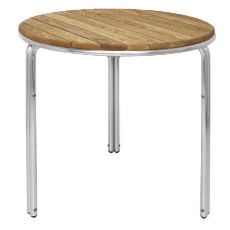 Gastro Outdoor Möbel gastro outdoor krista bistrotisch rund 60 cm für outdoor möbel