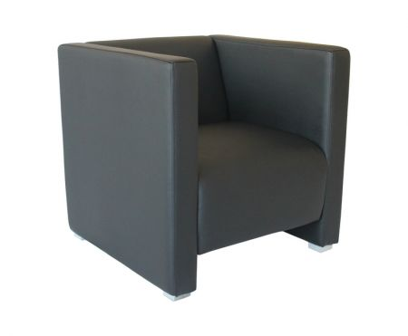 Lounge sessel reka 70 cm schwarz g nstig kaufen m bel star for Sessel 70 cm