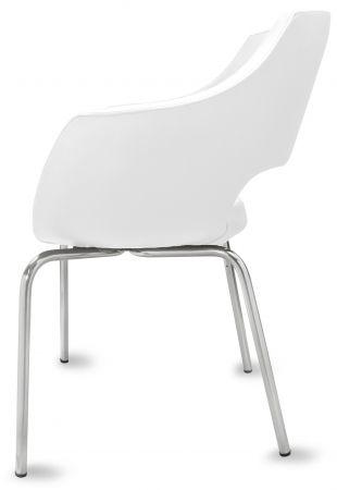 gastro stuhl lea wei g nstig kaufen m bel star. Black Bedroom Furniture Sets. Home Design Ideas