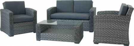 loungem bel set napoli mit sofa sessel und tisch f r outdoor m bel star. Black Bedroom Furniture Sets. Home Design Ideas