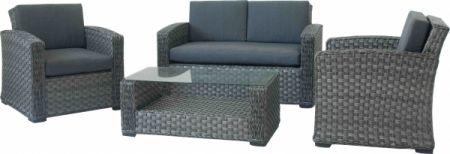 Loungemöbel Set loungemöbel set napoli mit sofa sessel und tisch für outdoor möbel