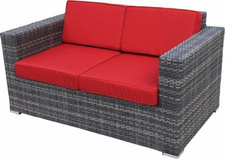 Lounge sofa outdoor günstig  Gastronomie Lounge Sofa 2 Sitzer Marta rocca Outdoor günstig ...