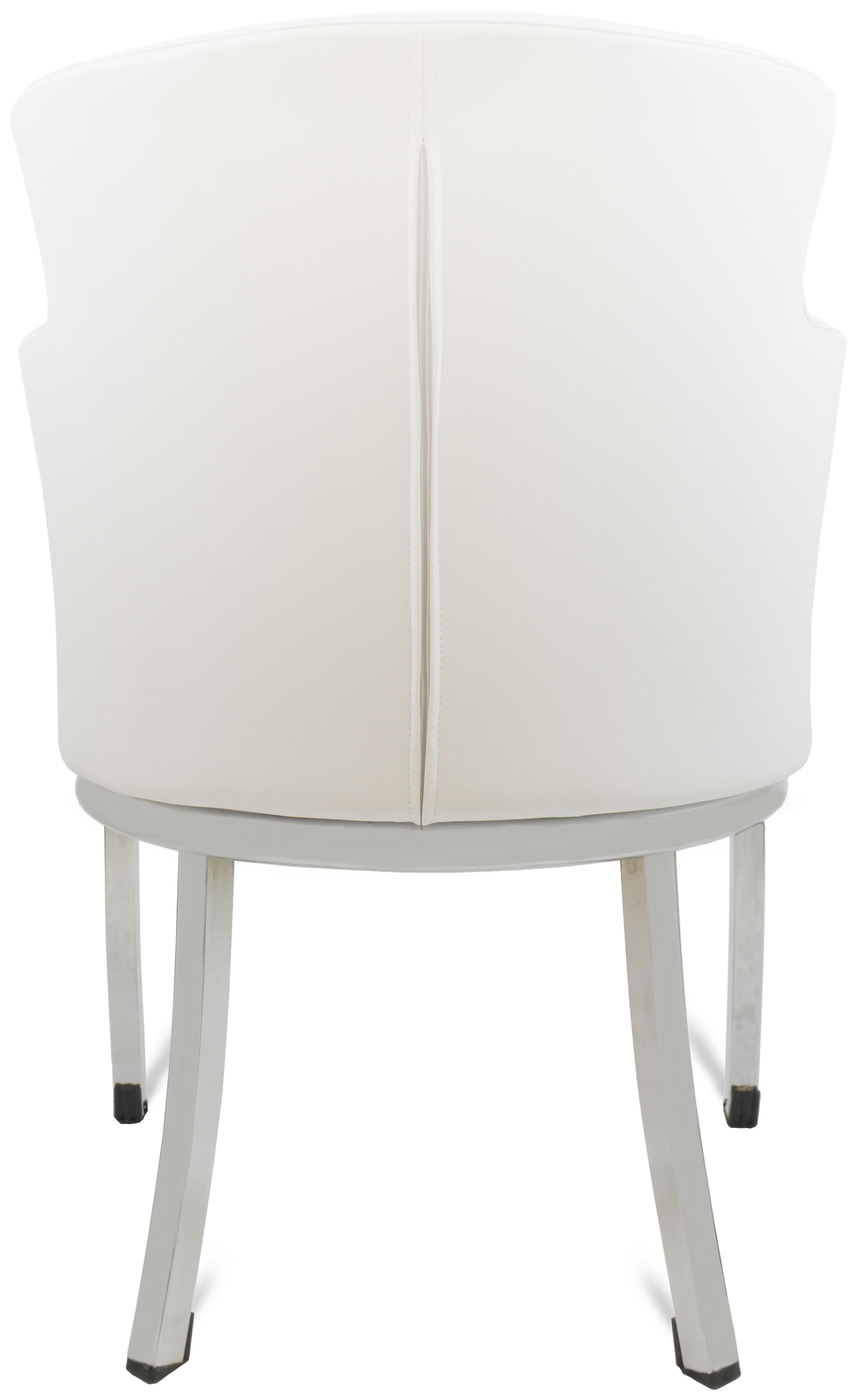 gastro lounge stuhl sessel primo wei mit schwarzem sitz m bel star. Black Bedroom Furniture Sets. Home Design Ideas