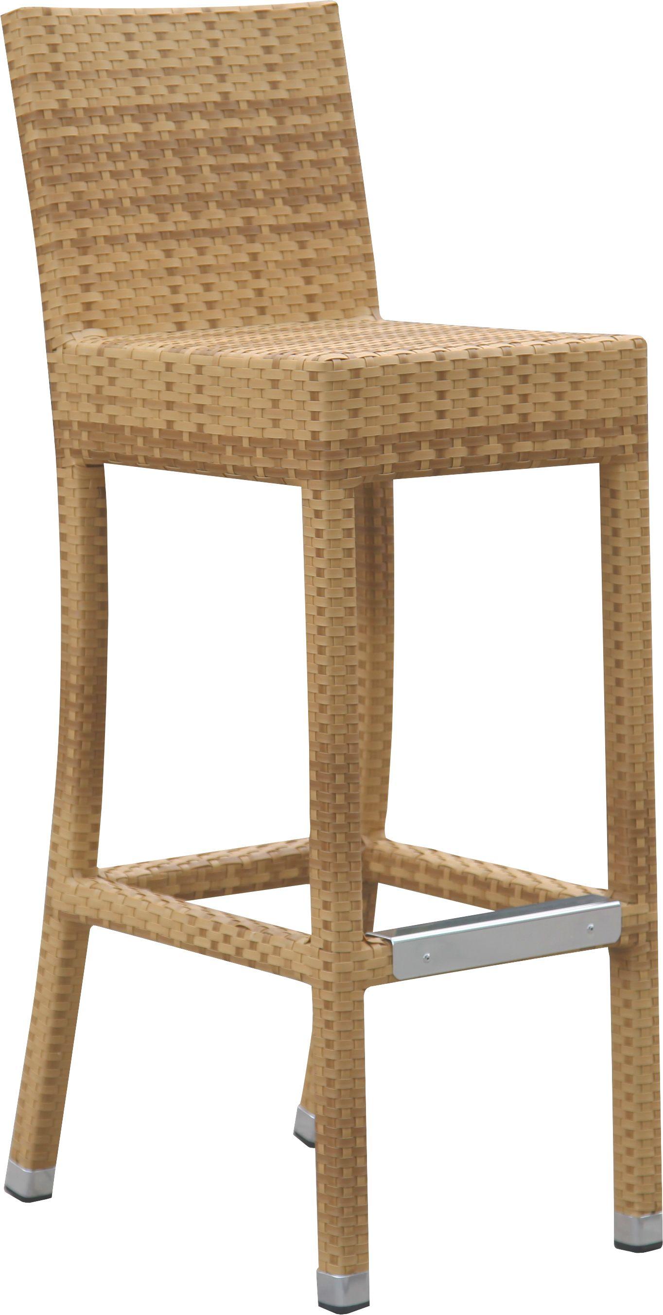 barhocker outdoor dante 100br mit r ckenlehne sereno. Black Bedroom Furniture Sets. Home Design Ideas