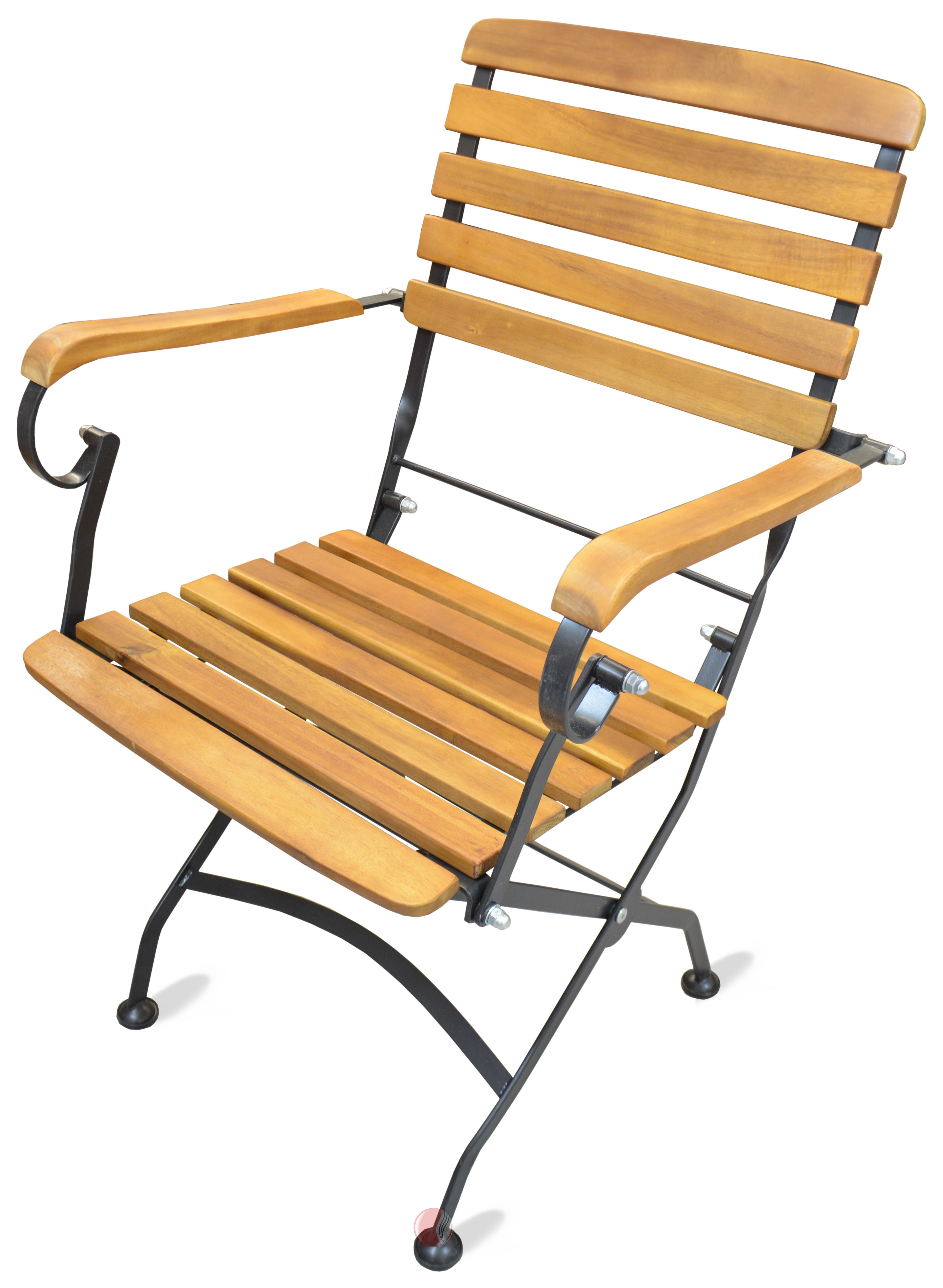 biergarten stuhl outdoor stuhl riki mit armlehne. Black Bedroom Furniture Sets. Home Design Ideas