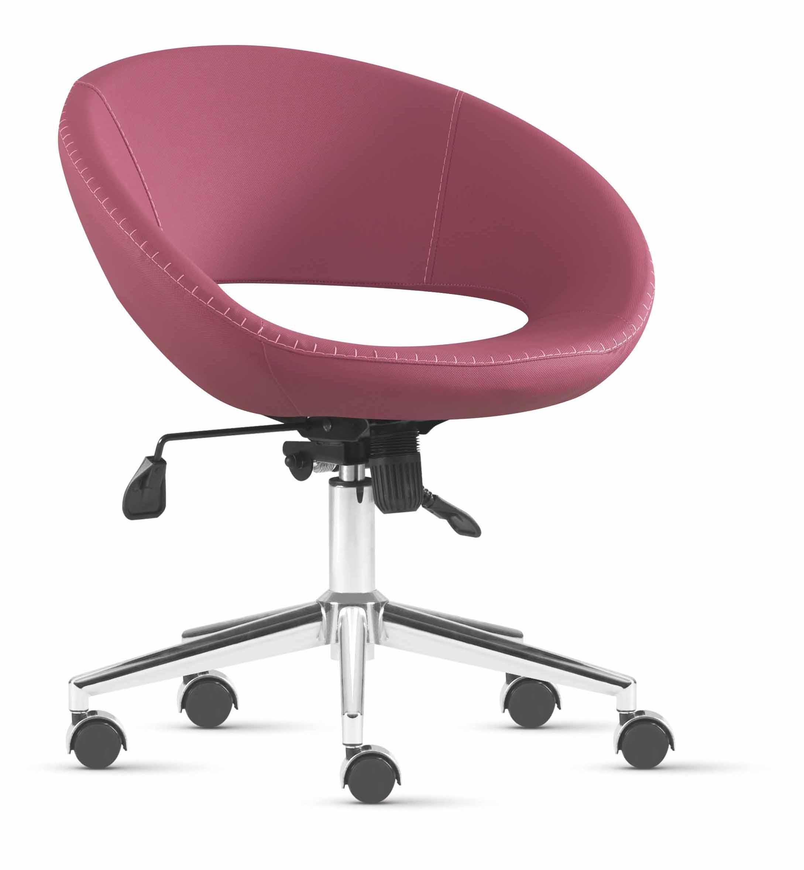 Designer Bürostühle designer bürostuhl bordeaux höhenverstellbar mit rädern metall