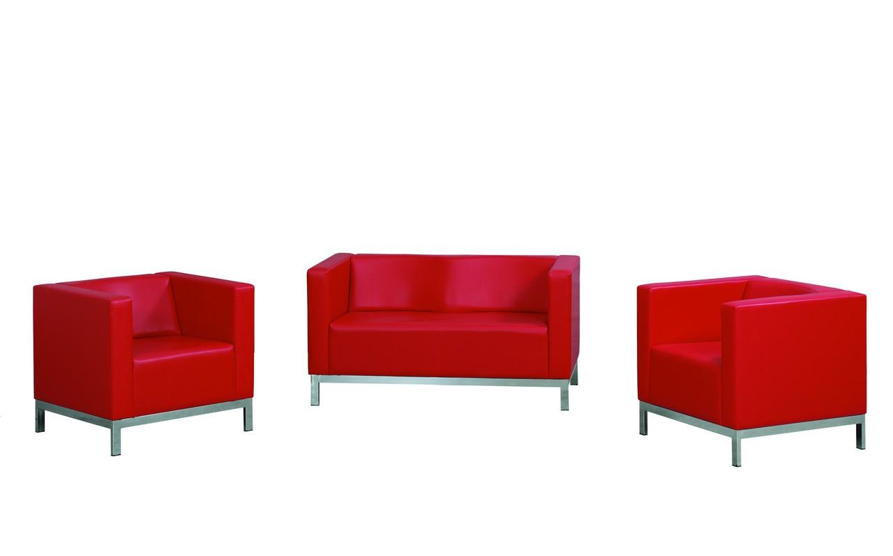 elips sofa 2 sitzer rot m bel star. Black Bedroom Furniture Sets. Home Design Ideas