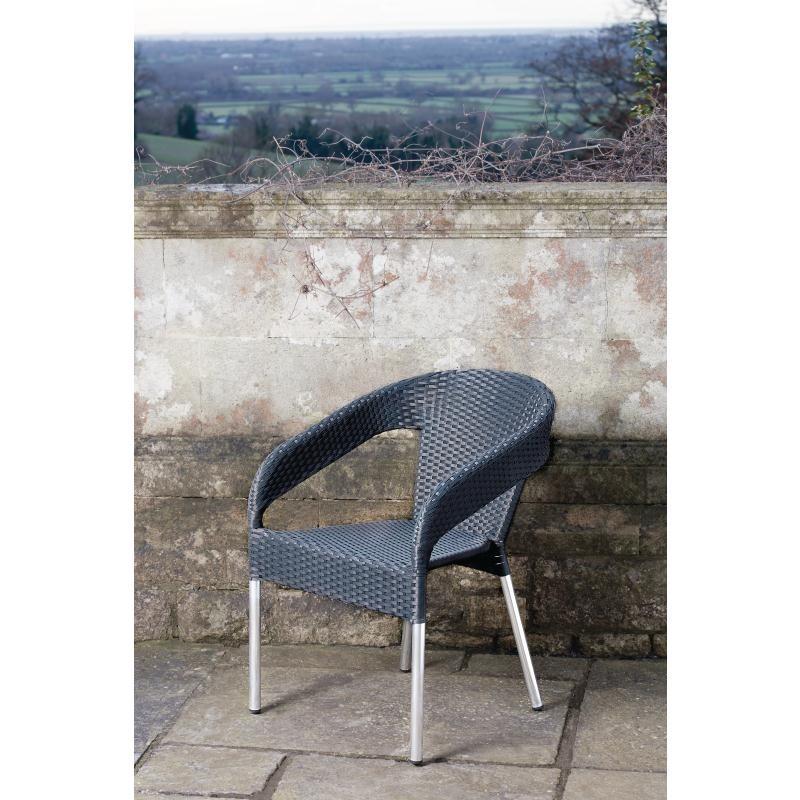 outdoor stuhl krista 360st a schwarz g nstig kaufen m bel star. Black Bedroom Furniture Sets. Home Design Ideas