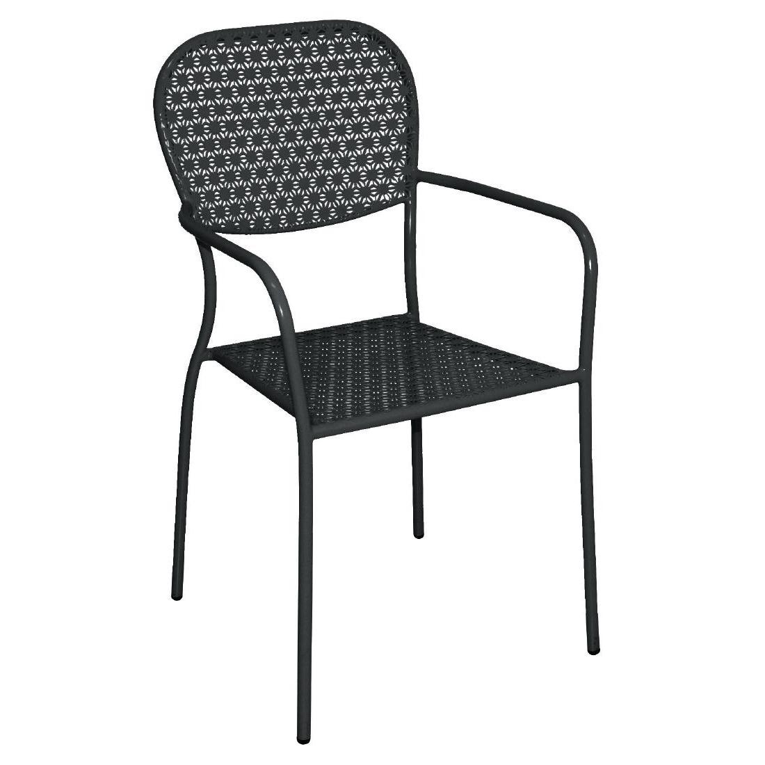 outdoor stuhl krista 150st a schwarz g nstig kaufen m bel star. Black Bedroom Furniture Sets. Home Design Ideas