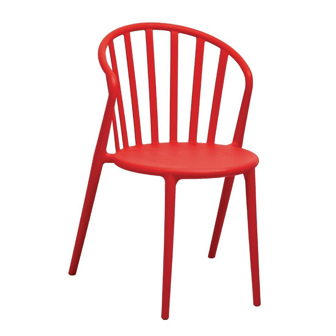outdoor stuhl krista 175st a rot g nstig kaufen m bel star. Black Bedroom Furniture Sets. Home Design Ideas