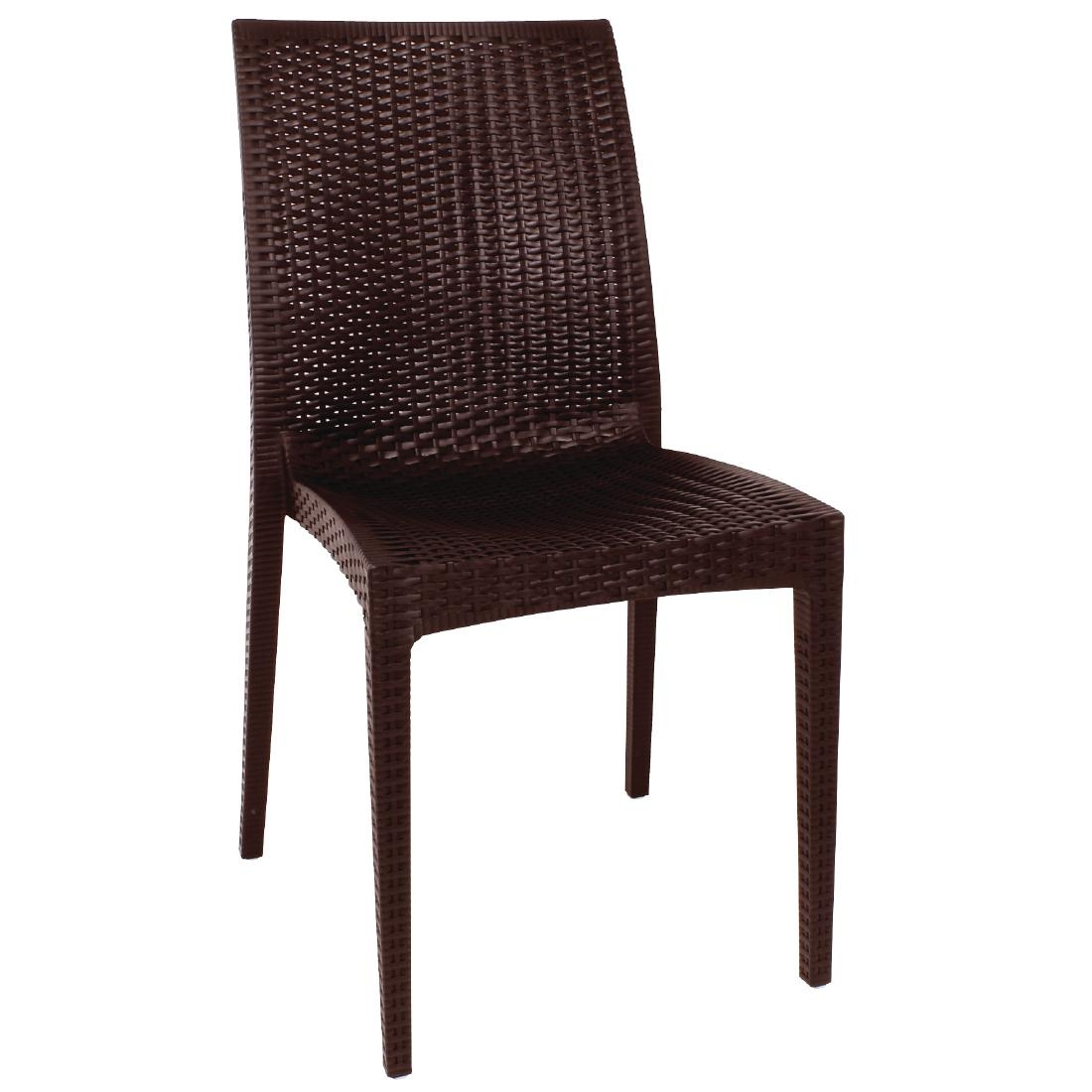 Outdoor stuhl krista 190st braun g nstig kaufen m bel star - Outdoor stuhle stapelbar ...