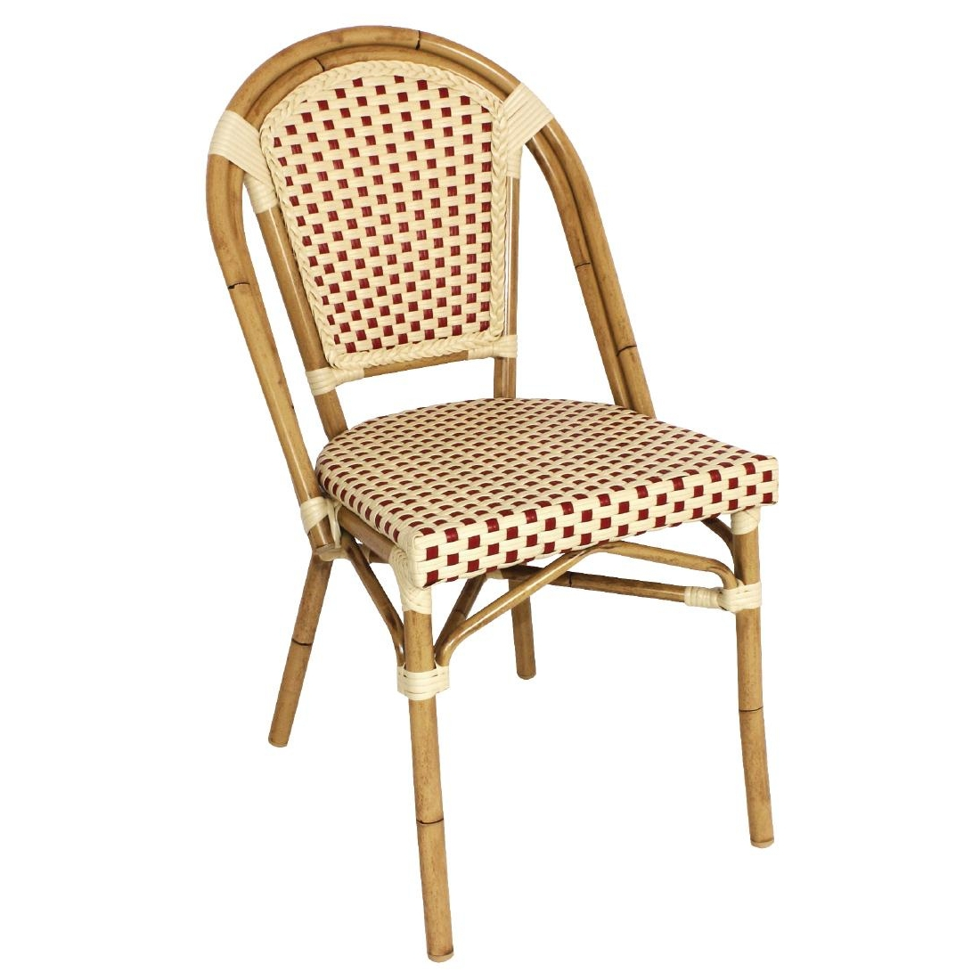 outdoor stuhl krista 305st rot beige g nstig kaufen m bel star. Black Bedroom Furniture Sets. Home Design Ideas