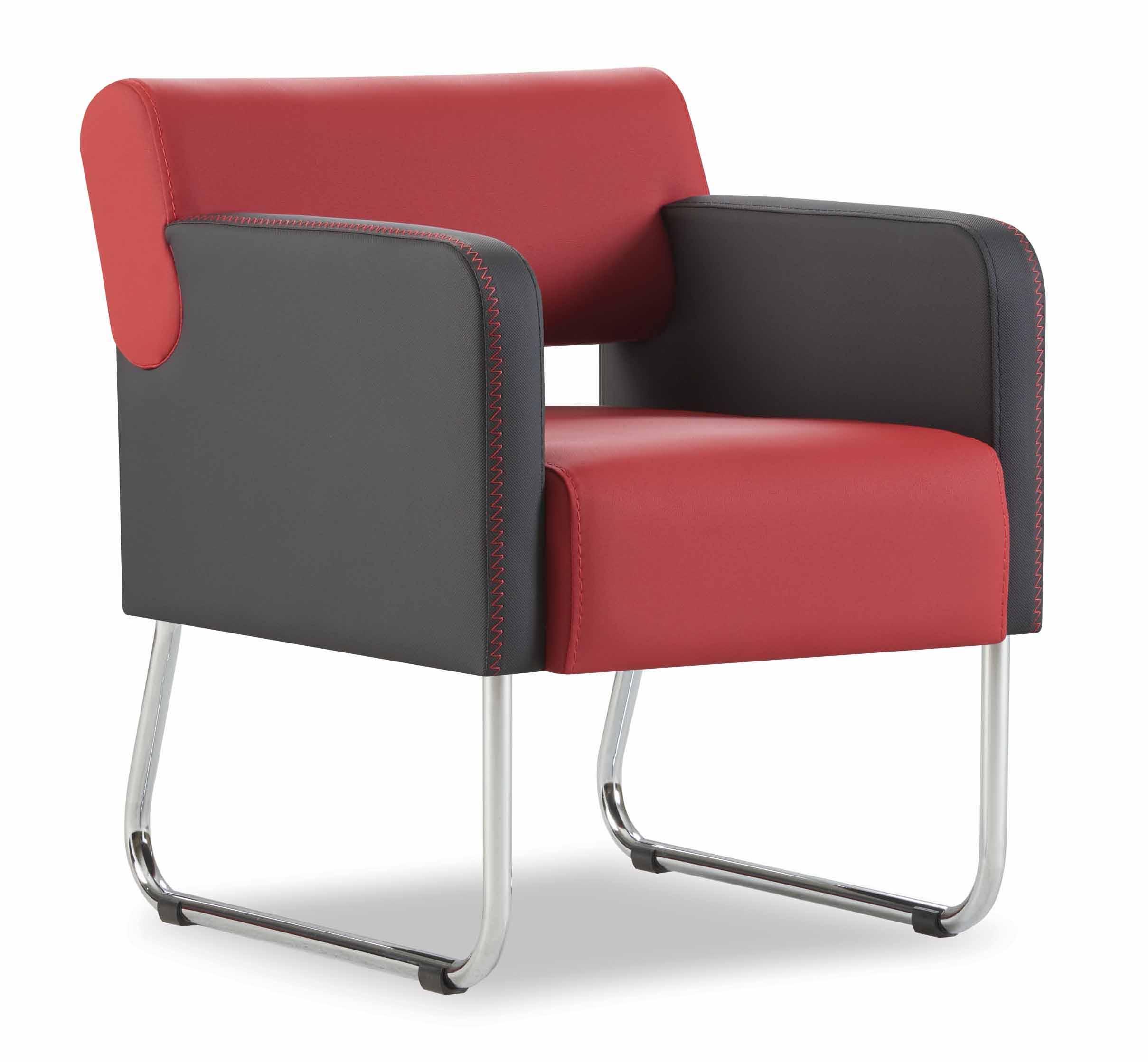 star sitzgruppe aus sofa und 2 sesseln in bordeaux schwarz m bel star. Black Bedroom Furniture Sets. Home Design Ideas