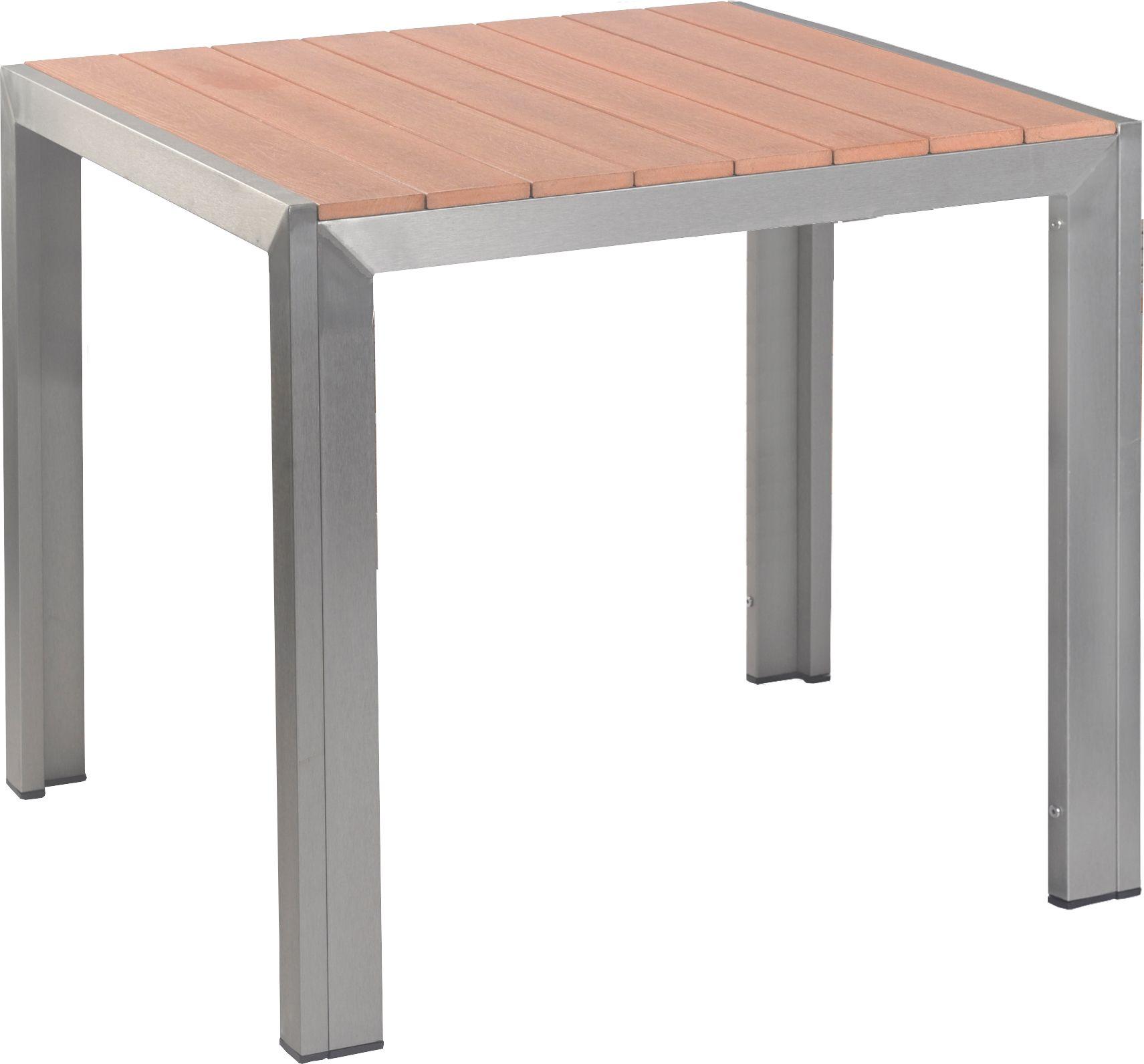 Gastro Outdoor Terrassentisch Torino Teak 80x80x74 Cm Möbel Star