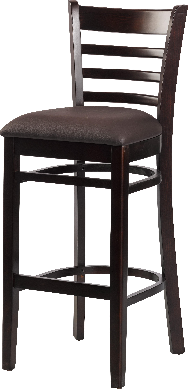 gastronomie cafe barhocker nanni braun mit sitzpolsterung m bel star. Black Bedroom Furniture Sets. Home Design Ideas
