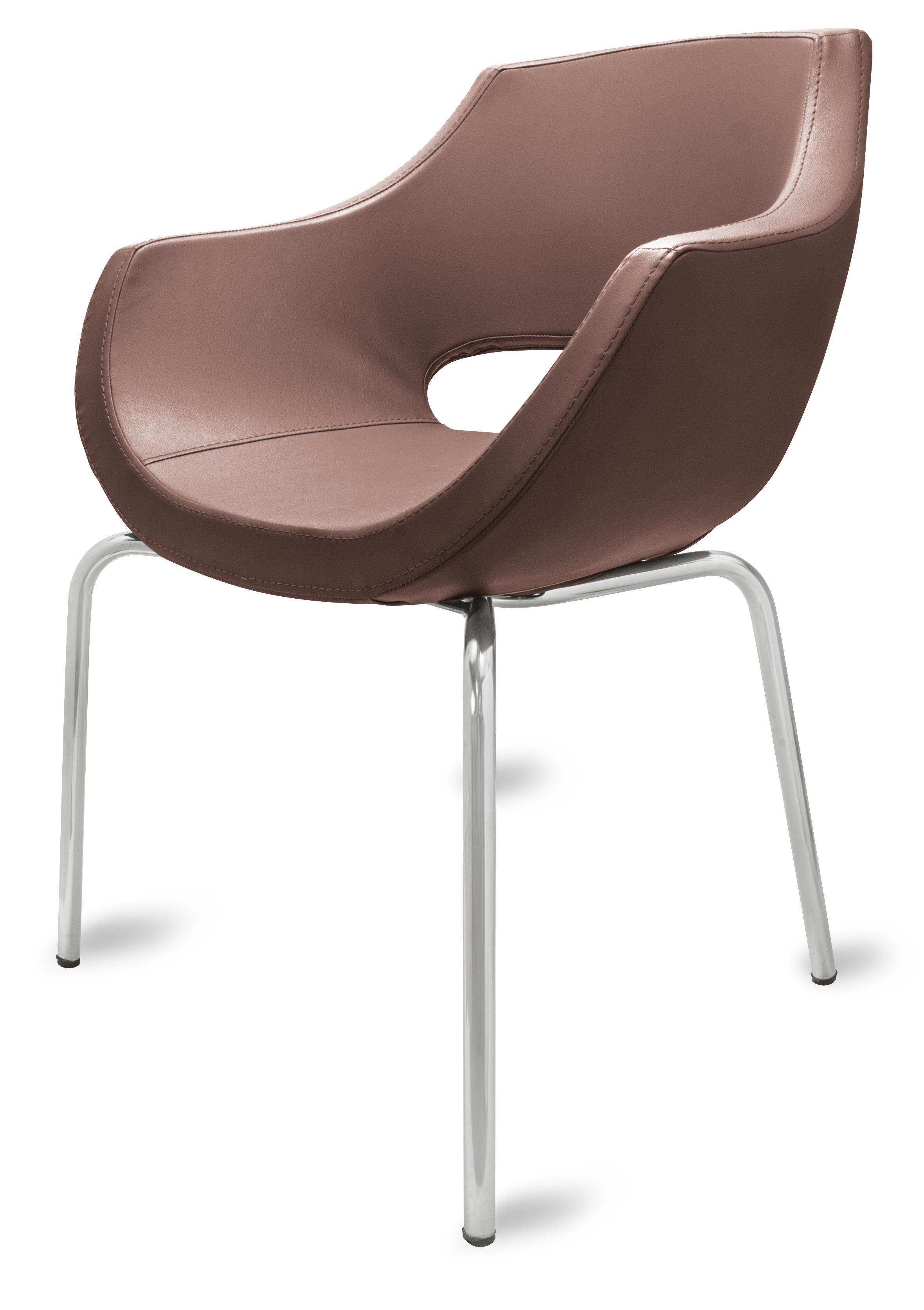 gastro stuhl lea braun g nstig kaufen m bel star. Black Bedroom Furniture Sets. Home Design Ideas