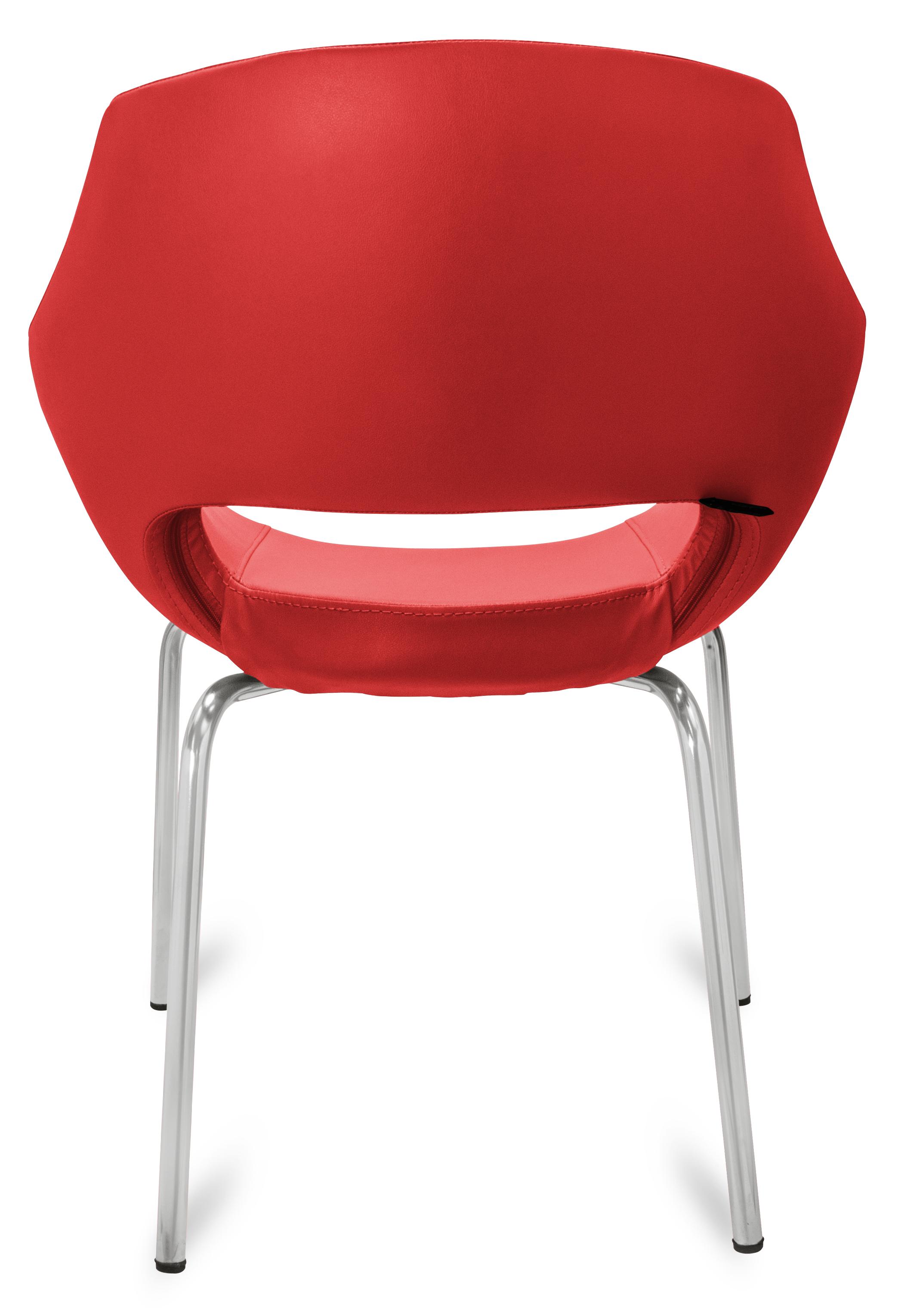 gastro stuhl lea rot g nstig kaufen m bel star. Black Bedroom Furniture Sets. Home Design Ideas