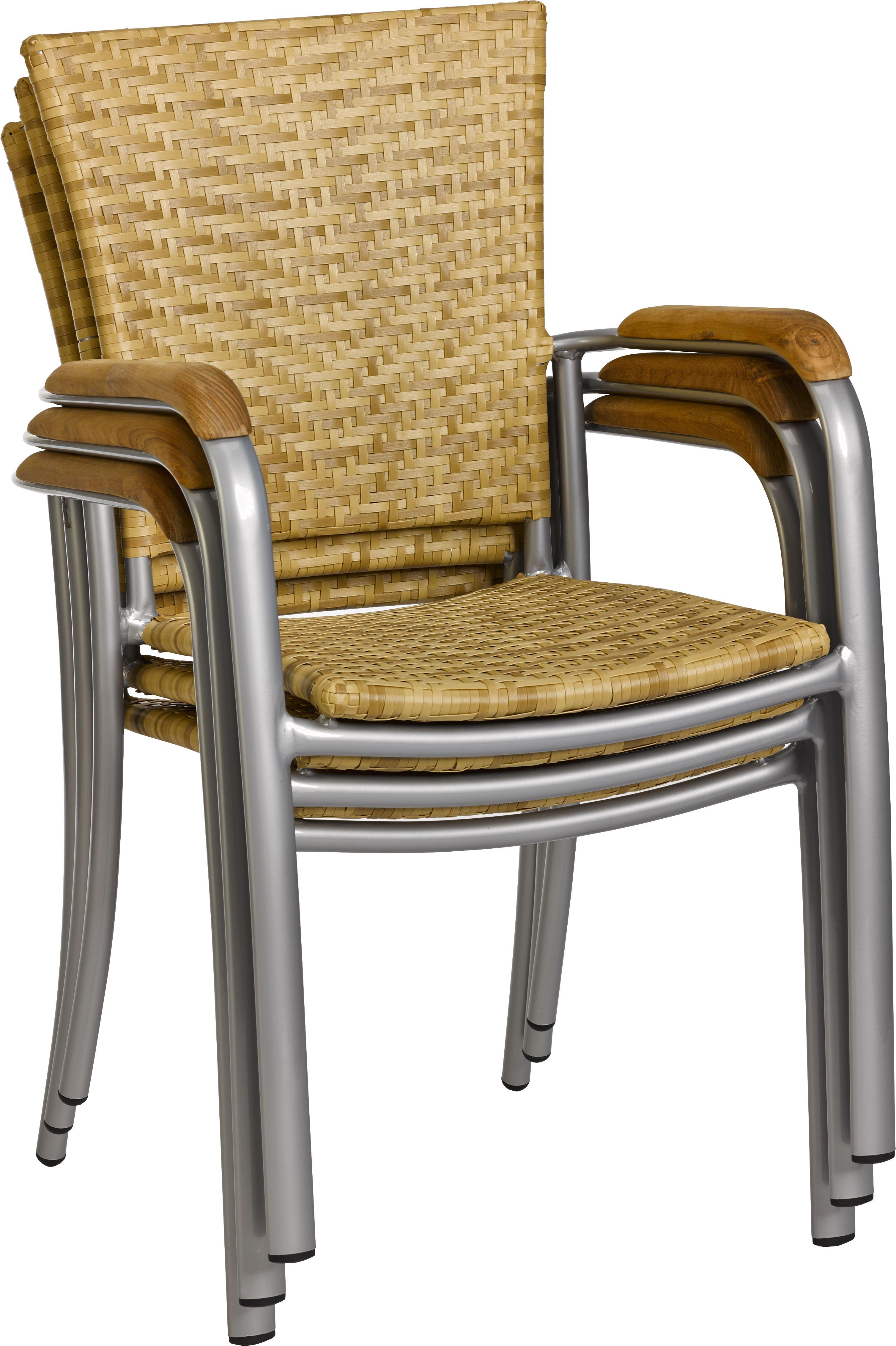 lounge sessel outdoor bali sereno mit armlehne stapelbar. Black Bedroom Furniture Sets. Home Design Ideas