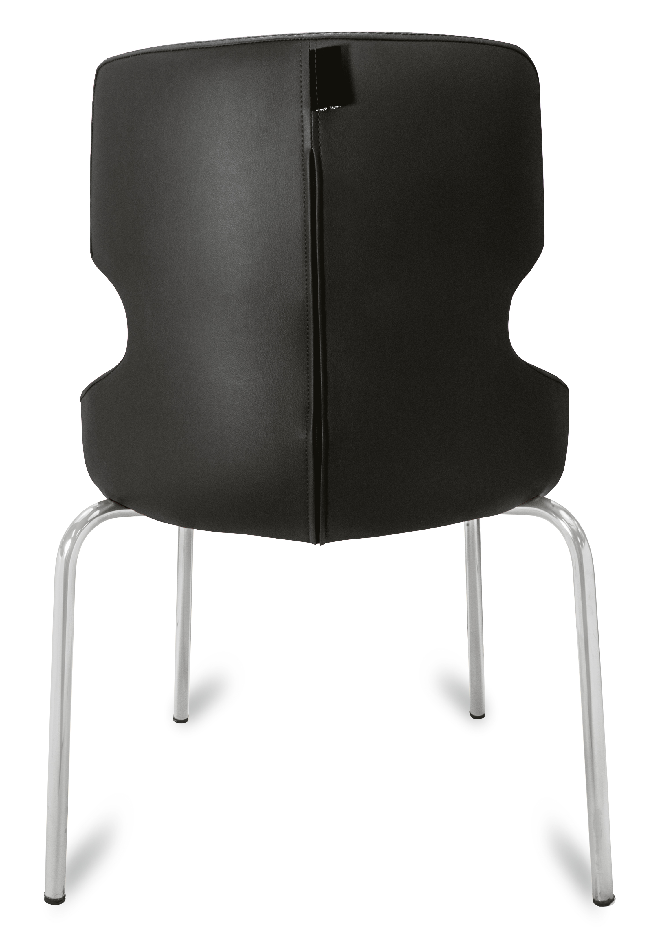 polsterstuhl donna schwarz metallf e f r gastronomie g nstig m bel star. Black Bedroom Furniture Sets. Home Design Ideas