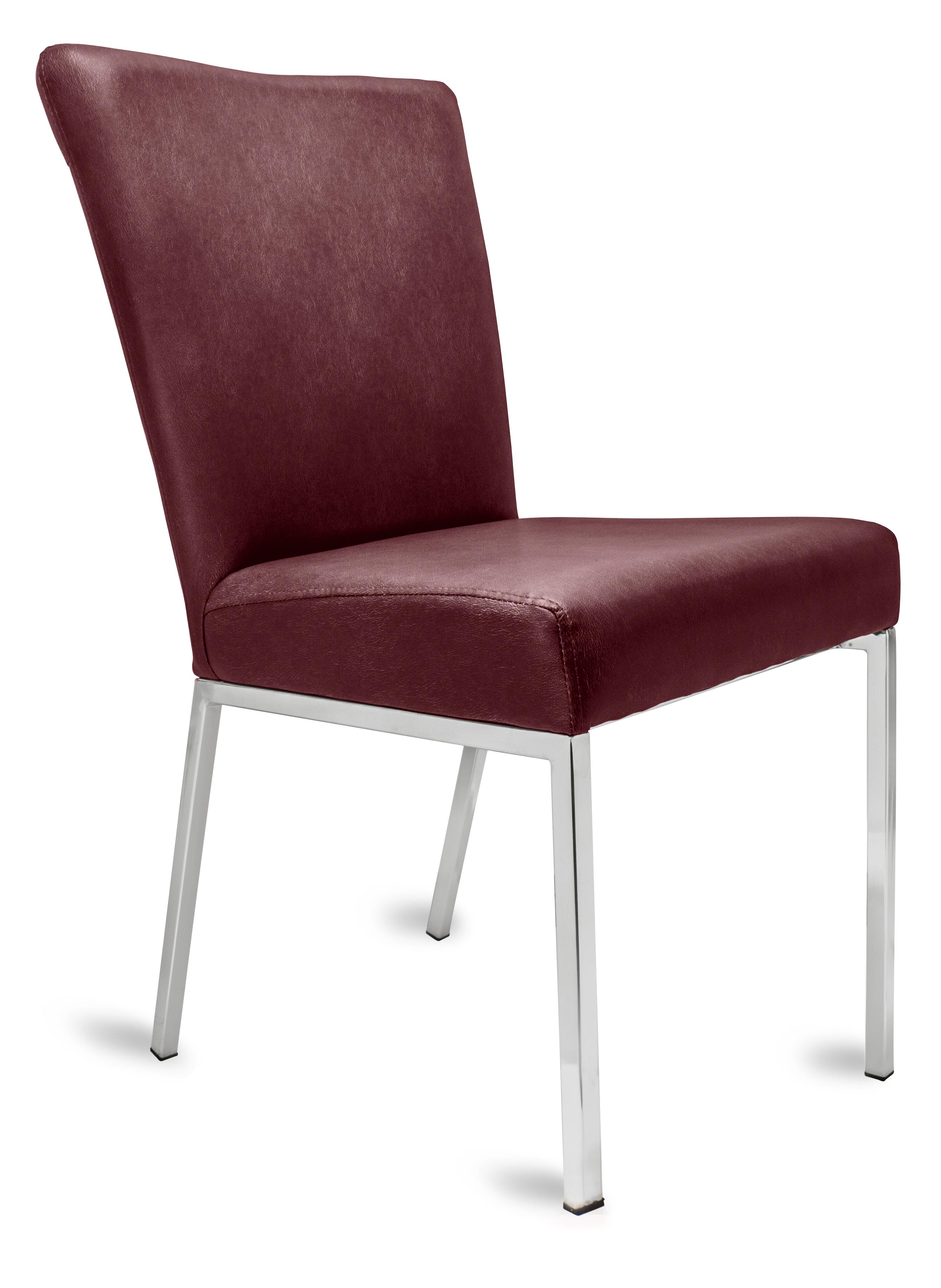 polsterstuhl gala bordeaux metallf e f r gastronomie. Black Bedroom Furniture Sets. Home Design Ideas