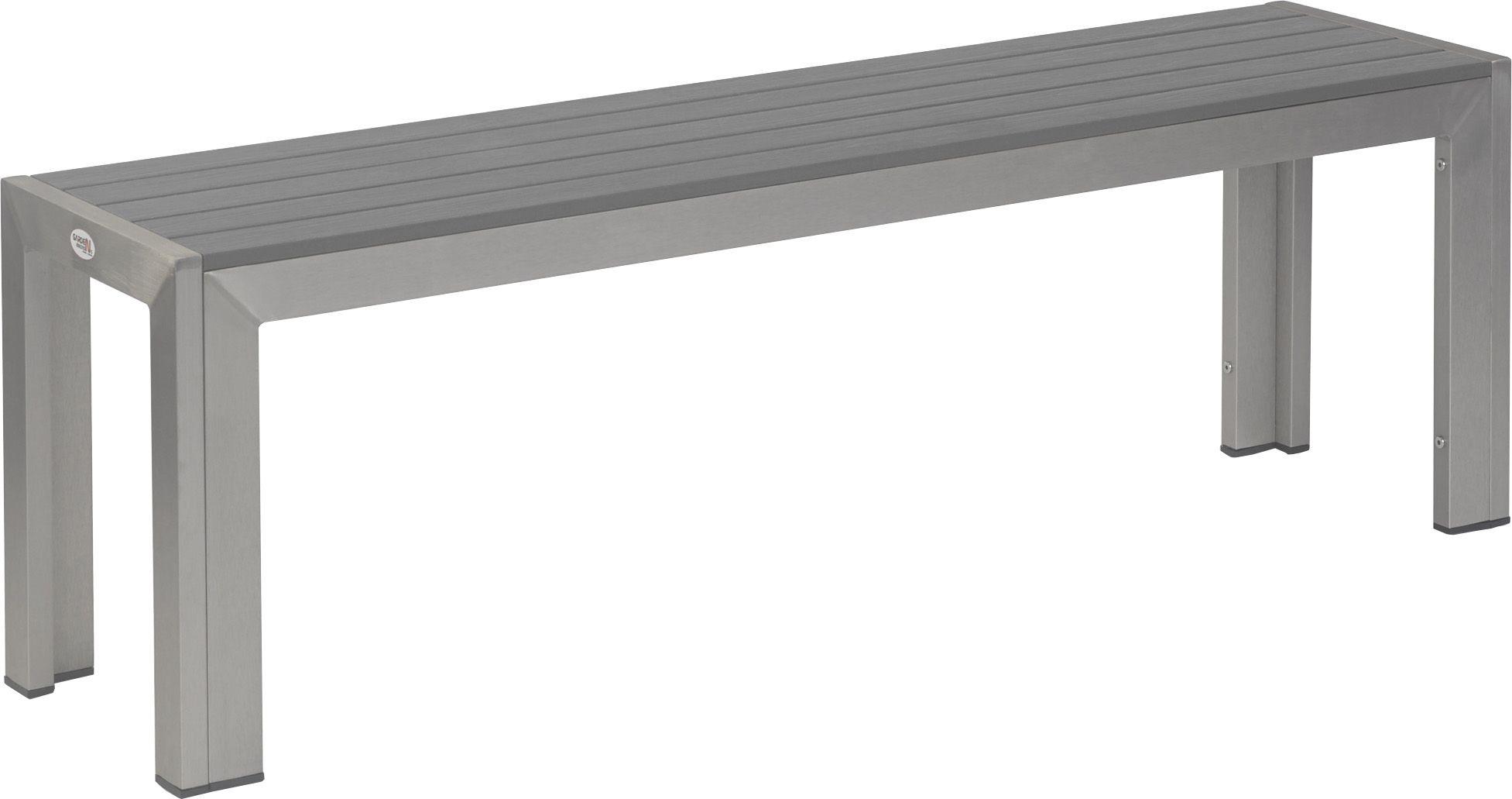terrassenbank torino grau 140x35x46 cm g nstig kaufen m bel star. Black Bedroom Furniture Sets. Home Design Ideas