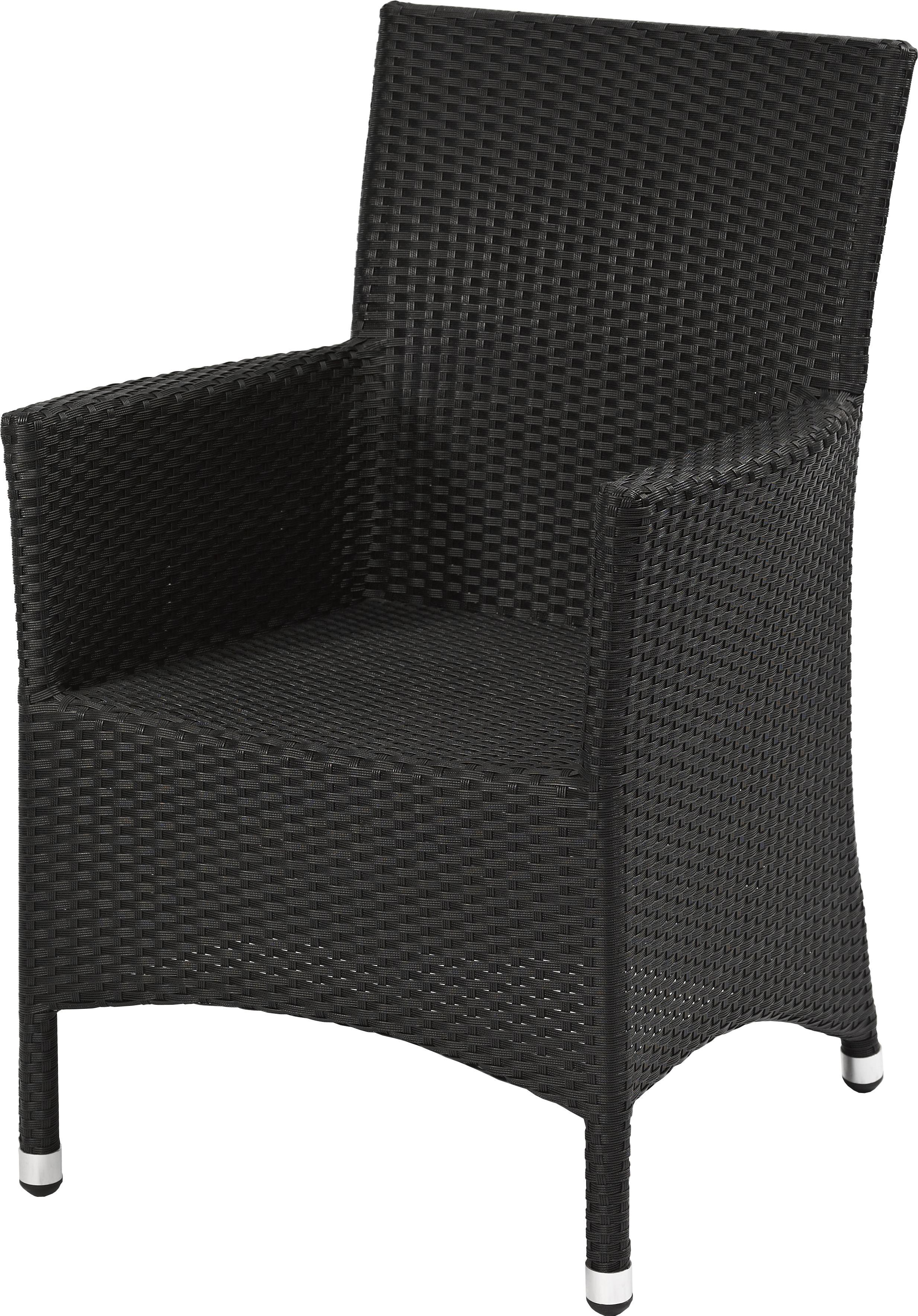 terrassenstuhl lounge sessel mira seegrassoptik schwarz g nstig m bel star. Black Bedroom Furniture Sets. Home Design Ideas