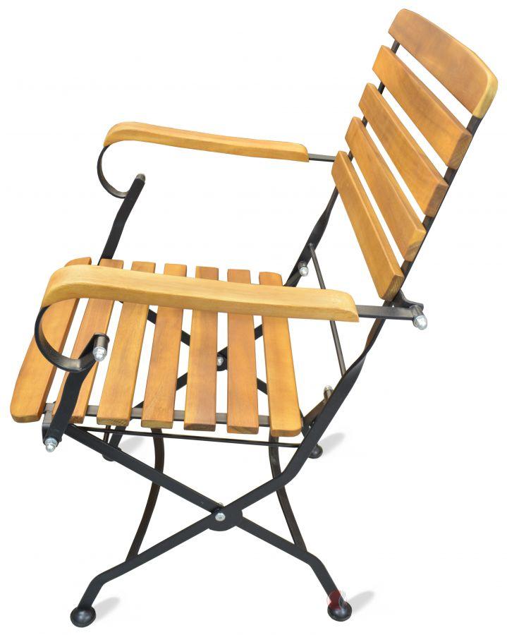 biergarten stuhl outdoor stuhl riki mit armlehne klappbar m bel star. Black Bedroom Furniture Sets. Home Design Ideas