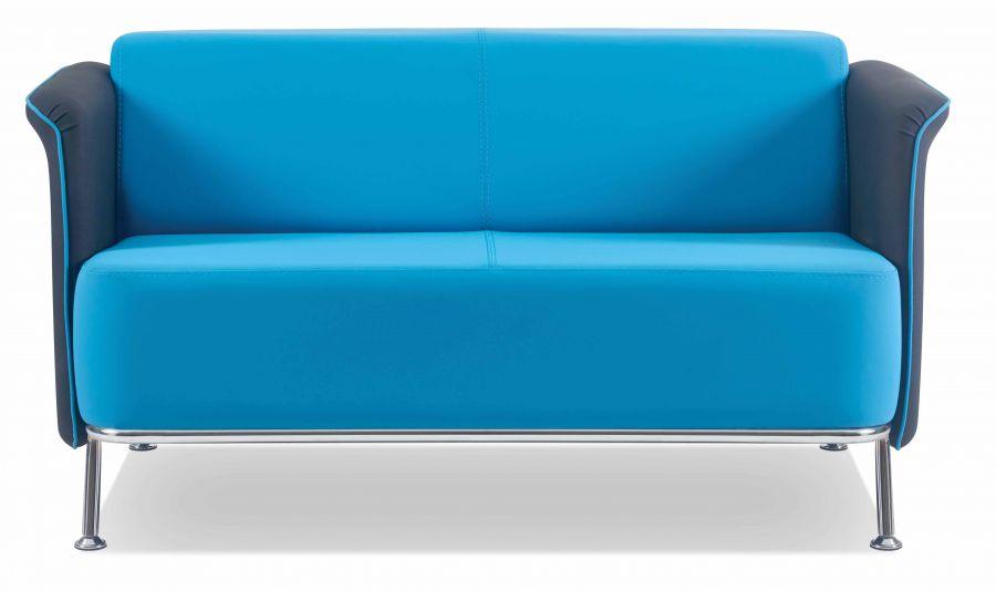 festiva sitzgruppe aus sofa und 2 sesseln in blau g nstig kaufen m bel star. Black Bedroom Furniture Sets. Home Design Ideas