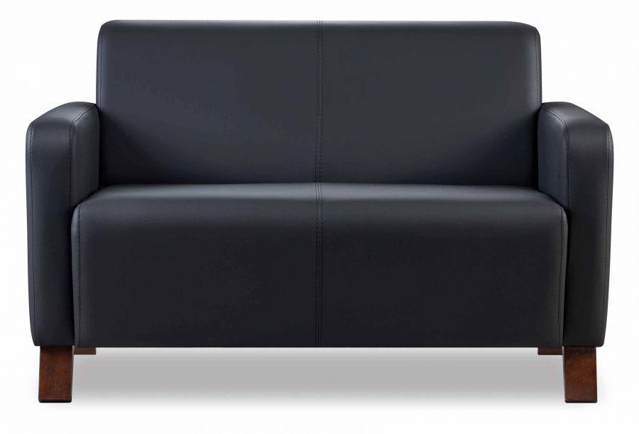 inova sitzgruppe aus sofa und 2 sesseln in schwarz g nstig m bel star. Black Bedroom Furniture Sets. Home Design Ideas