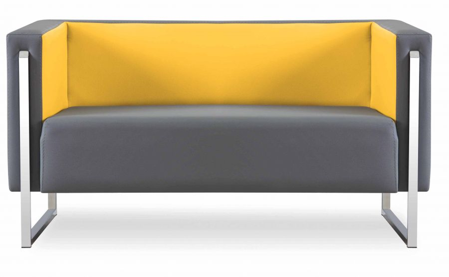 karle sitzgruppe aus sofa und 2 sesseln in gelb g nstig kaufen m bel star. Black Bedroom Furniture Sets. Home Design Ideas