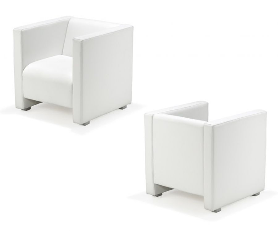 Lounge Sessel Reka 70 Cm Weiss Günstig Kaufen
