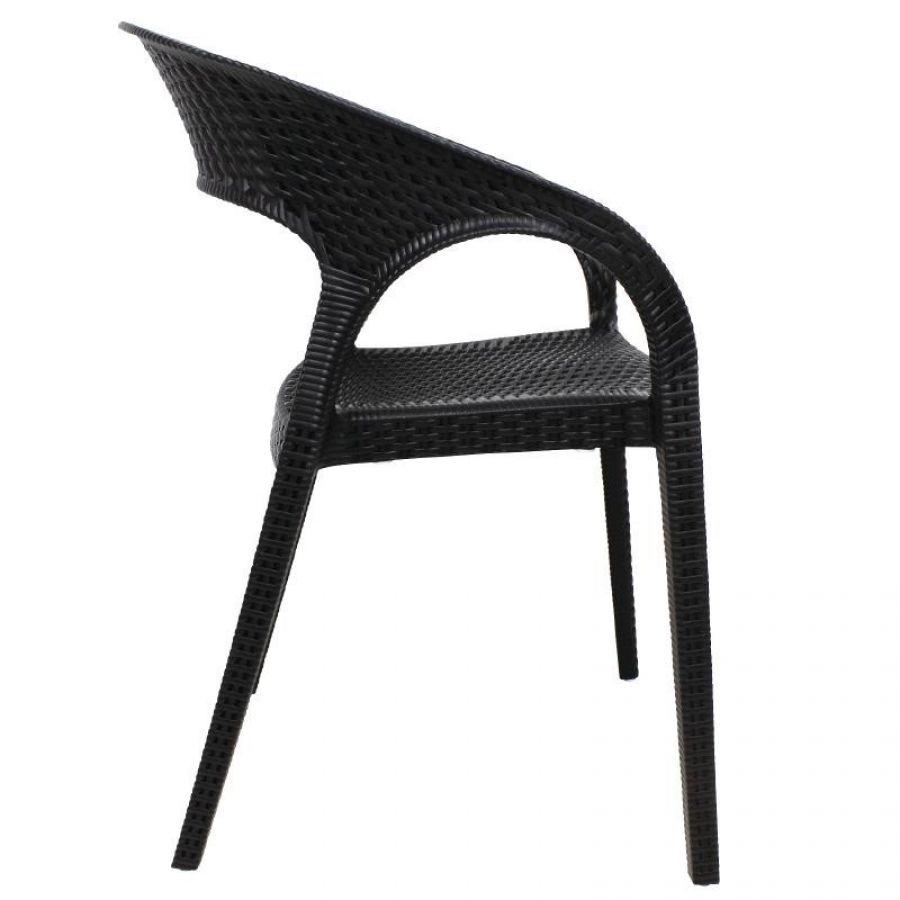 outdoor stuhl krista 195st a schwarz g nstig kaufen m bel star. Black Bedroom Furniture Sets. Home Design Ideas