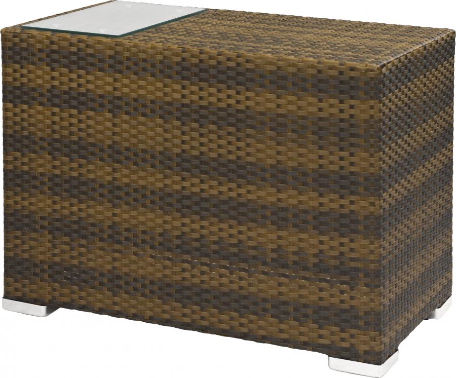 gastro outdoor lounge beistelltisch santa outdoor burned. Black Bedroom Furniture Sets. Home Design Ideas