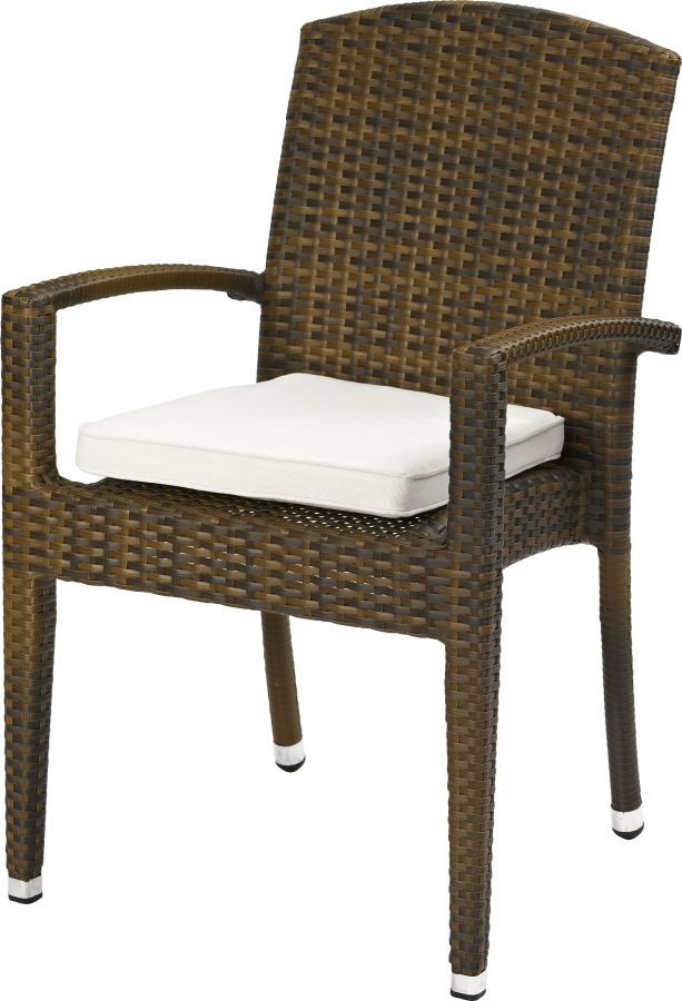 outdoor lounge sessel favori stapelbar burned mit. Black Bedroom Furniture Sets. Home Design Ideas