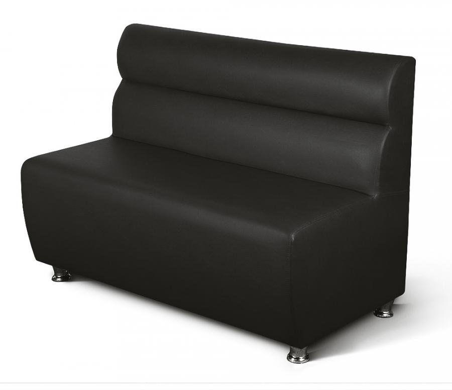 gastronomie polsterbank sitzbank cafe1 schwarz l nge 100 cm m bel star. Black Bedroom Furniture Sets. Home Design Ideas